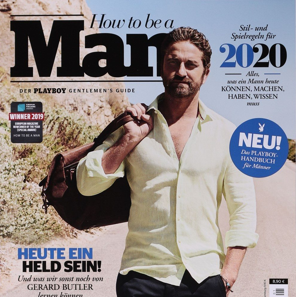 Playboy How To Be A Man 2019 Cover